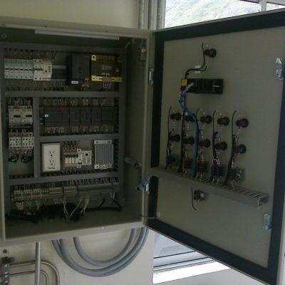 Tablero de control de proceso automatizado
