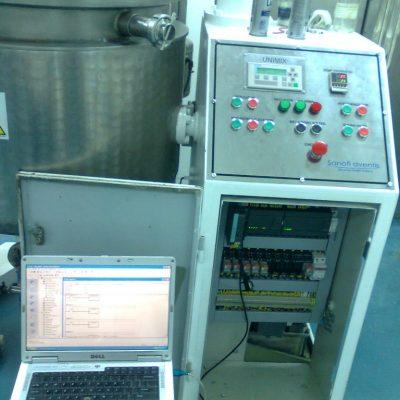 Automatización de equipo