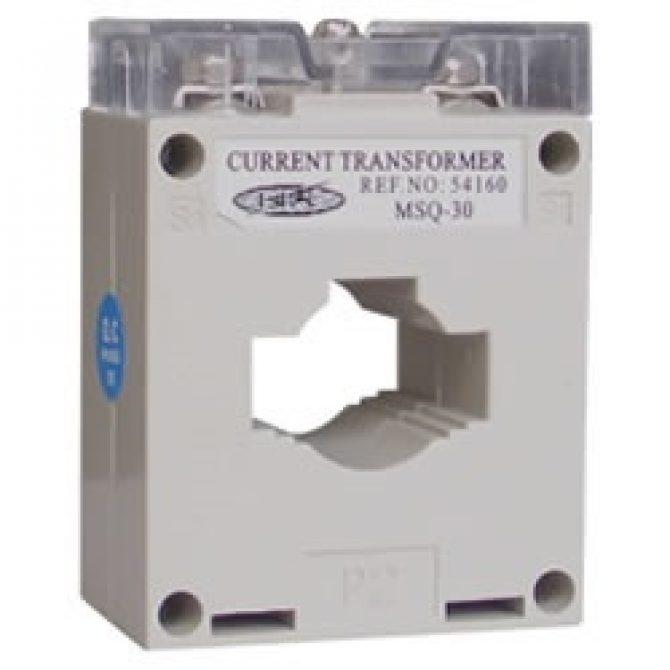 TRANSFORMADOR DE CORRIENTE EBCHQ Ref: MSQ-30