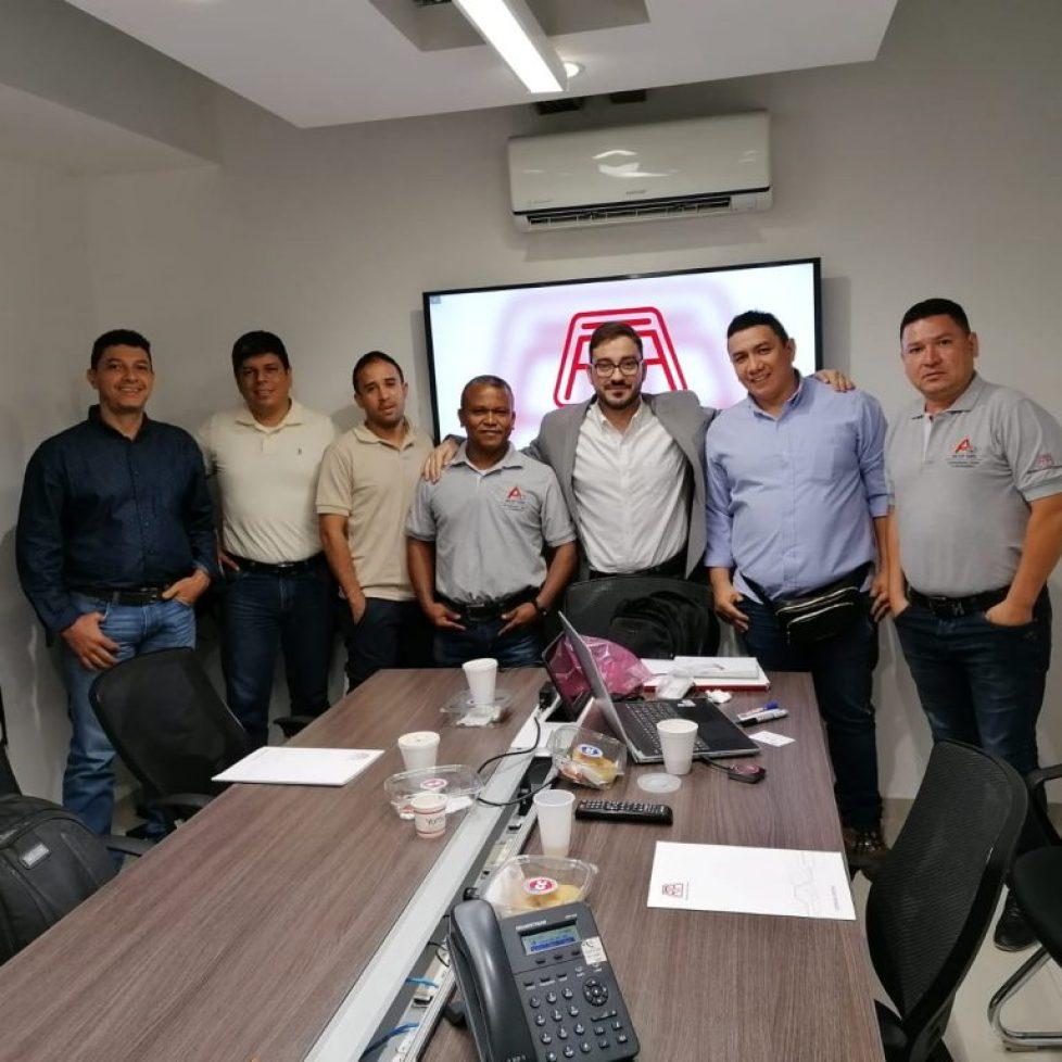 FIRMA DE ACUERDO DE REPRESENTACION R.T.A MOTION CONTROL  PARA COLOMBIA